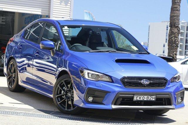 Used Subaru WRX MY21 Premium (AWD) Rosebery, 2020 Subaru WRX MY21 Premium (AWD) WR Blue Continuous Variable Sedan