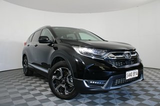 2018 Honda CR-V RW MY19 VTi-LX 4WD Black 1 Speed Constant Variable Wagon.