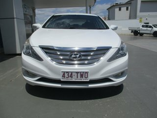 2012 Hyundai i45 YF MY11 Elite White 6 Speed Automatic Sedan
