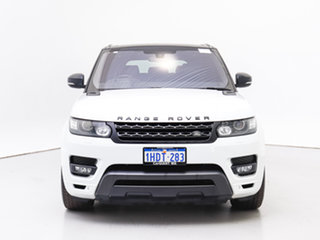 2016 Land Rover Range Rover LW MY16.5 Sport SDV8 HSE Dynamic Fuji White 8 Speed Automatic Wagon.
