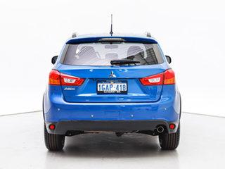 2016 Mitsubishi ASX XC MY17 LS (2WD) Blue Continuous Variable Wagon