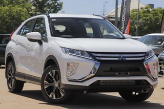 2020 Mitsubishi Eclipse Cross YA MY20 ES 2WD White 8 Speed Constant Variable Wagon.