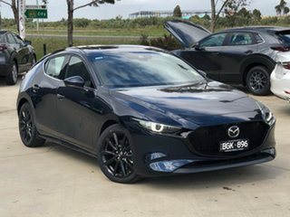 2020 Mazda 3 BP2HLA G25 SKYACTIV-Drive Astina Deep Crystal Blue 6 Speed Sports Automatic Hatchback.