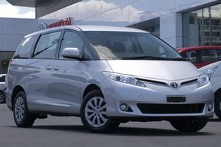 2015 Toyota Tarago ACR50R MY13 GLi Silver 7 Speed Constant Variable Wagon.