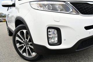 2013 Kia Sorento XM MY13 Platinum 4WD White 6 Speed Sports Automatic Wagon.