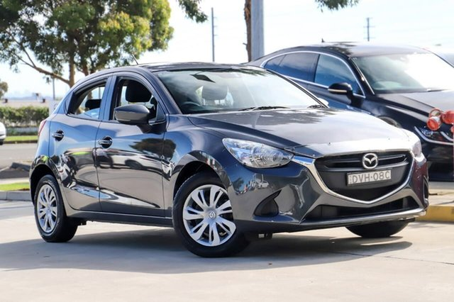 Used Mazda 2 DJ2HA6 Neo SKYACTIV-MT Kirrawee, 2018 Mazda 2 DJ2HA6 Neo SKYACTIV-MT Grey 6 Speed Manual Hatchback