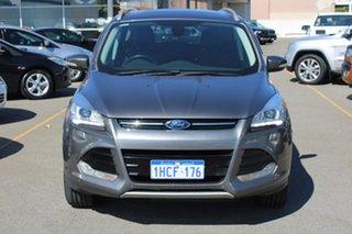 2013 Ford Kuga TF Titanium PwrShift AWD Grey 6 Speed Sports Automatic Dual Clutch Wagon.