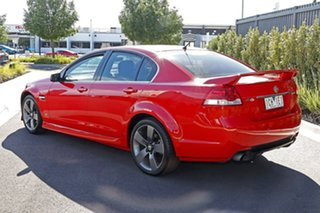 2013 Holden Commodore Red Sedan