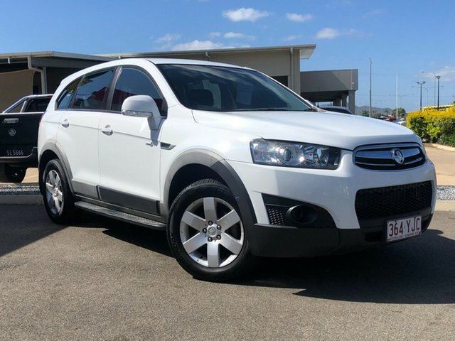 Used Holden Captiva CG Series II MY12 7 SX Garbutt, 2013 Holden Captiva CG Series II MY12 7 SX White 6 Speed Sports Automatic Wagon