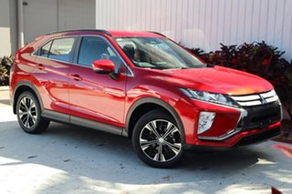 2020 Mitsubishi Eclipse Cross YA MY20 ES 2WD Red 8 Speed Constant Variable Wagon.