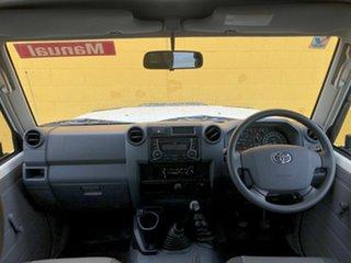 2015 Toyota Landcruiser VDJ76R Workmate White 5 Speed Manual Wagon