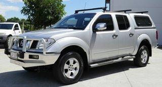 2008 Nissan Navara D40 ST-X 4x2 Silver 5 Speed Automatic Utility.
