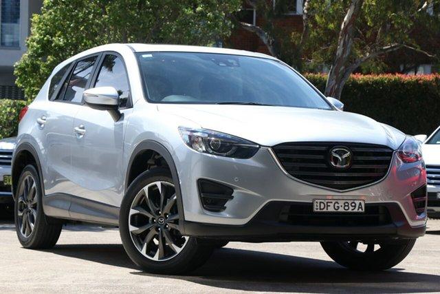Pre-Owned Mazda CX-5 MY15 Akera (4x4) Mosman, 2016 Mazda CX-5 MY15 Akera (4x4) Silver 6 Speed Automatic Wagon