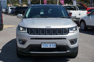2018 Jeep Compass M6 MY18 Limited Silver 9 Speed Automatic Wagon.