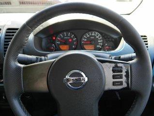 2008 Nissan Navara D40 ST-X 4x2 Silver 5 Speed Automatic Utility