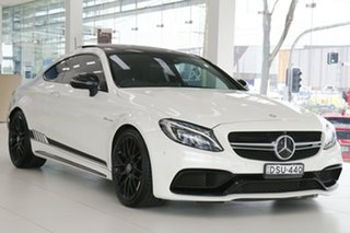 2016 Mercedes-Benz C-Class C205 C63 AMG SPEEDSHIFT MCT S White 7 Speed Sports Automatic Coupe.