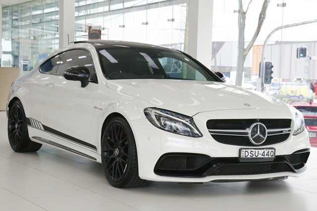 Used Mercedes-AMG C63 S C Chullora, 2016 Mercedes-AMG C63 S C White 7 Speed Automatic Coupe