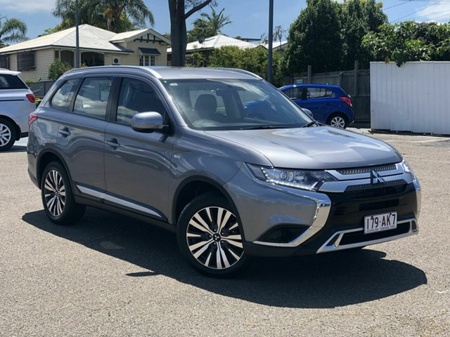 Used Mitsubishi Outlander ZL MY19 ES AWD Chermside, 2019 Mitsubishi Outlander ZL MY19 ES AWD Grey 6 Speed Constant Variable Wagon