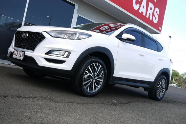Used Hyundai Tucson TL4 MY20 Active X 2WD Bundaberg, 2019 Hyundai Tucson TL4 MY20 Active X 2WD White 6 Speed Automatic Wagon