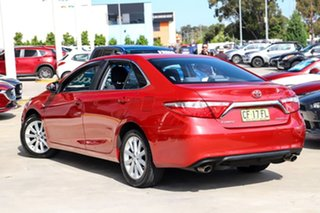 2015 Toyota Camry ASV50R Atara S Red 6 Speed Sports Automatic Sedan.