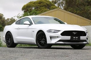 2018 Ford Mustang FN 2018MY GT Fastback White 6 Speed Manual Fastback.