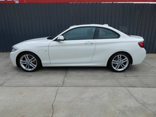 2015 BMW 2 Series F22 228i M Sport White 8 Speed Sports Automatic Coupe