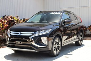 2018 Mitsubishi Eclipse Cross YA MY18 LS 2WD Black 8 Speed Constant Variable Wagon