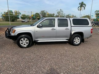 2011 Holden Colorado LT-R Silver 4 Speed Auto Active Select Dual Cab.