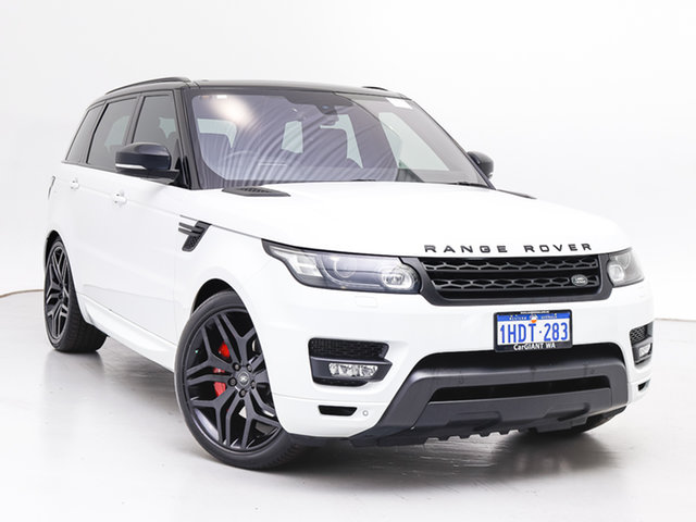 Used Land Rover Range Rover LW MY16.5 Sport SDV8 HSE Dynamic, 2016 Land Rover Range Rover LW MY16.5 Sport SDV8 HSE Dynamic Fuji White 8 Speed Automatic Wagon