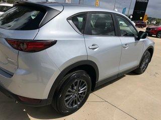 2020 Mazda CX-5 KF4WLA Maxx SKYACTIV-Drive i-ACTIV AWD Sport Sonic Silver 6 Speed Sports Automatic.