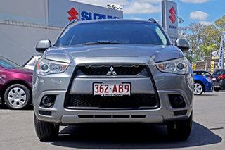 2011 Mitsubishi ASX XA MY12 2WD Silver 5 Speed Manual Wagon.