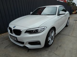 2015 BMW 2 Series F22 228i M Sport White 8 Speed Sports Automatic Coupe.