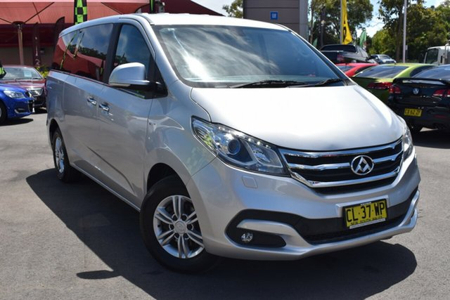 Used LDV G10 SV7A Tuggerah, 2017 LDV G10 SV7A Silver 6 Speed Sports Automatic Wagon