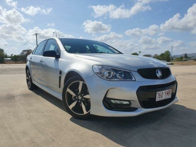Used Holden Commodore VF II MY16 SV6 Black Townsville, 2016 Holden Commodore VF II MY16 SV6 Black Silver 6 Speed Sports Automatic Sedan