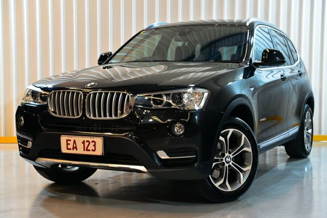 Used BMW X3 F25 LCI xDrive20d Steptronic Hendra, 2017 BMW X3 F25 LCI xDrive20d Steptronic Black 8 Speed Automatic Wagon