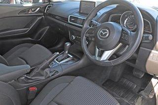 2016 Mazda 3 Blue Hatchback.