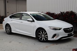 2018 Holden Commodore ZB MY19 RS Liftback White 9 Speed Sports Automatic Liftback.