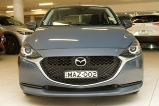 2020 Mazda 2 DJ2HAA G15 SKYACTIV-Drive Pure Grey 6 Speed Sports Automatic Hatchback