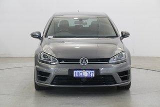 2015 Volkswagen Golf VII MY16 R DSG 4MOTION Wolfsburg Edition Limestone Grey 6 Speed.