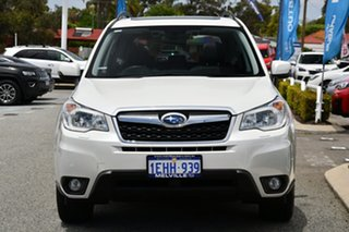 2013 Subaru Forester S4 MY14 2.5i-S Lineartronic AWD Satin White Pearl 6 Speed Constant Variable