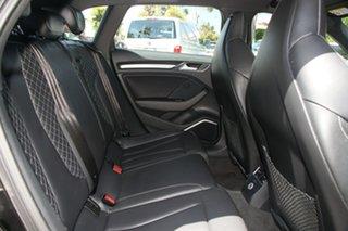 2017 Audi S3 8V MY17 Sportback 2.0 TFSI S Tronic 7 Speed Auto S-Tronic Hatchback