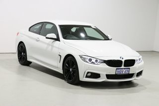2015 BMW 420i F32 MY15 Sport Line White 8 Speed Automatic Coupe