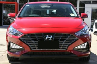 2020 Hyundai i30 PD.V4 MY21 Firey Red 6 Speed Sports Automatic Hatchback
