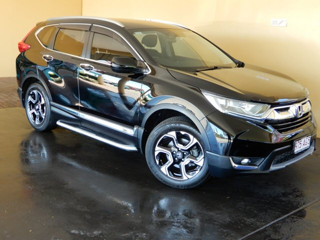 Used Honda CR-V MY18 VTi-S (AWD) Toowoomba, 2017 Honda CR-V MY18 VTi-S (AWD) Black Continuous Variable Wagon