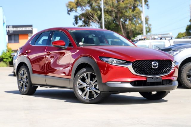 Demo Mazda CX-30 C30B G25 Astina (FWD) Kirrawee, 2020 Mazda CX-30 C30B G25 Astina (FWD) Soul Red Crystal 6 Speed Automatic Wagon