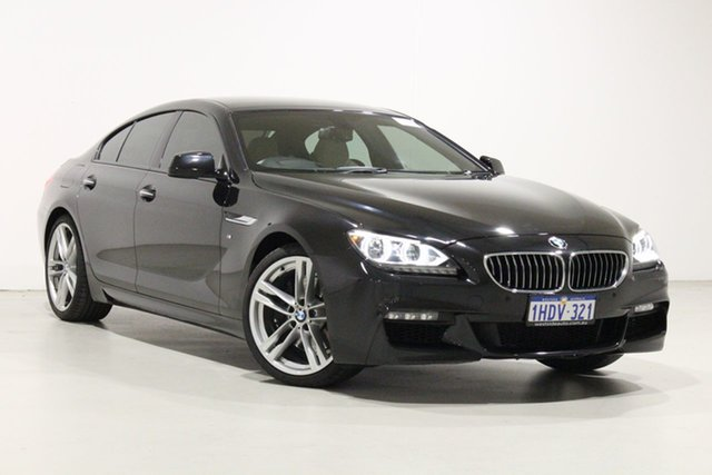 Used BMW 640i F06 MY14 Gran Coupe Bentley, 2014 BMW 640i F06 MY14 Gran Coupe Sapphire Black 8 Speed Automatic Coupe