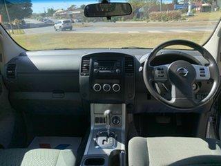 2013 Nissan Navara D40 S5 MY12 ST-X 550 Silver 7 Speed Sports Automatic Utility