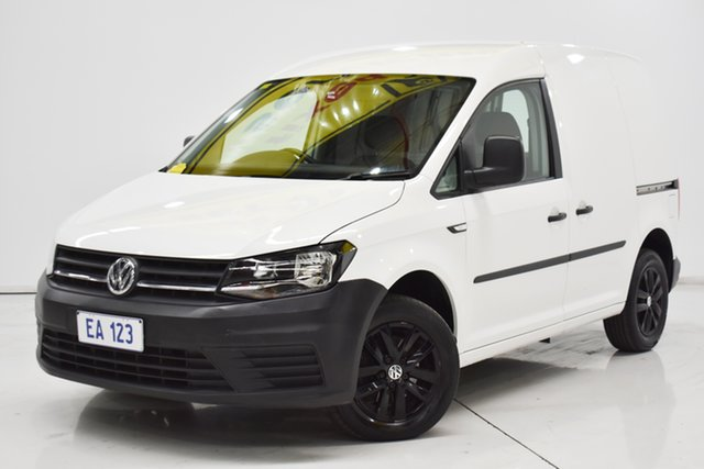 Used Volkswagen Caddy 2KN MY16 TSI160 SWB Runner Brooklyn, 2016 Volkswagen Caddy 2KN MY16 TSI160 SWB Runner White 5 Speed Manual Van