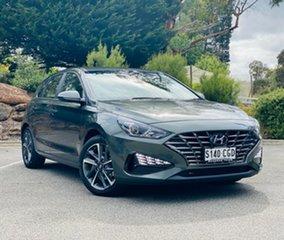 2020 Hyundai i30 PD.V4 MY21 Elite Amazon Gray 6 Speed Sports Automatic Hatchback.