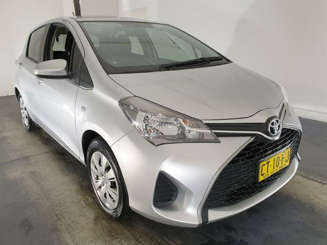 Used Toyota Yaris NCP130R Ascent Maryville, 2016 Toyota Yaris NCP130R Ascent Silver 4 Speed Automatic Hatchback